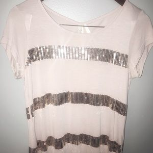 Kische Sequin Top Small NWT Womens Small